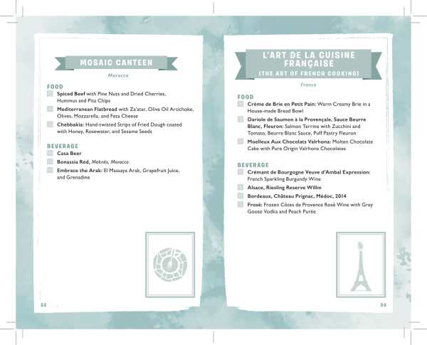 2019 Epcot International Festival of the Arts Passport Released 18