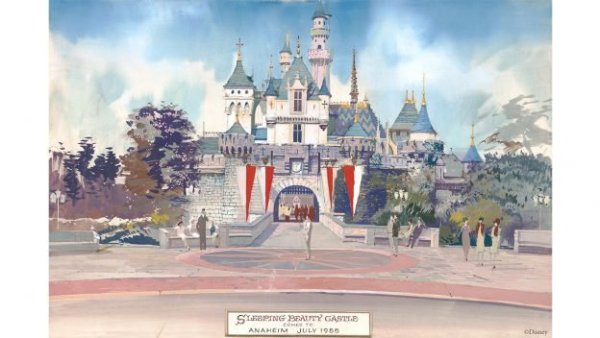 Sleeping Beauty Castle Construction