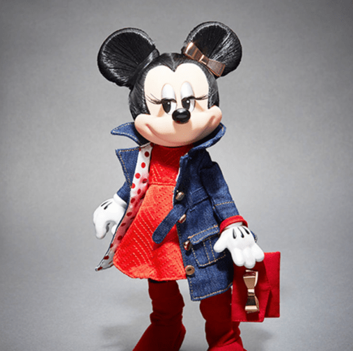 Rock The Dots Limited Edition Minnie Mouse Signature Doll 2