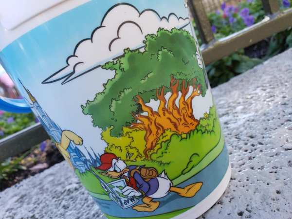 new refillable popcorn bucket at magic kingdom