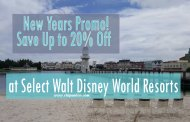 New Years Offer! Save Up to 20% off at Select Walt Disney World Resorts