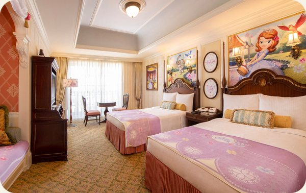 Sofia the First Themed Hotel Rooms Coming to Tokyo Disney Resort 7
