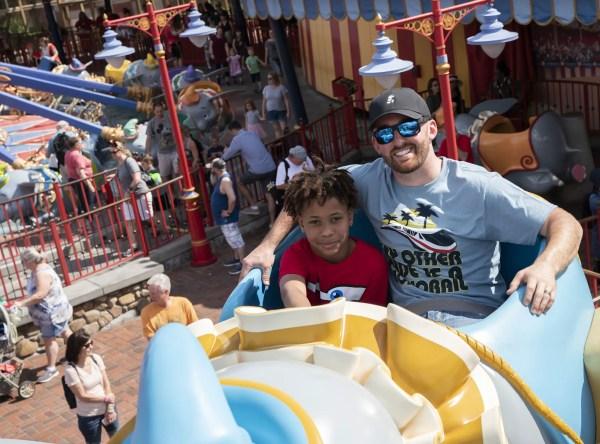 Daytona 500 NASCAR star Austin Dillon Spends Day Off at Disney world.