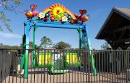 Kelly's Sunny Swing Adds Accessible Thrills For Wish Families