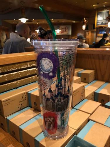 Magical New Starbucks Disney Parks Tumblers Have Been Spotted 3