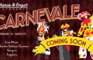Maria & Enzo's Offering Carnevale Festival Entertainment at Restaurant!