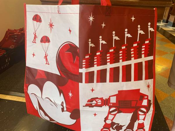 Reusable Bags Available Now at Hollywood Studios