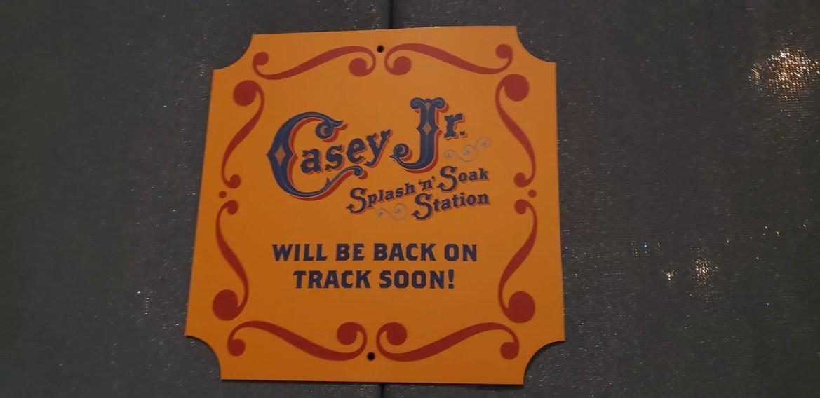 Casey Jr. Splash 'N' Soak Refurbishment Updates