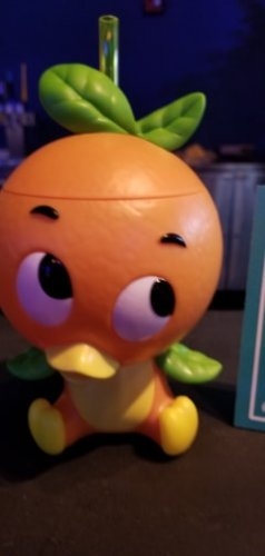New Orange Bird Sipper With Orange Cream Slushy 2
