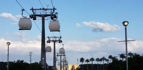 The Disney Skyliner Travel Times Have Been Revealed