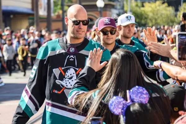 Anaheim Ducks day fans