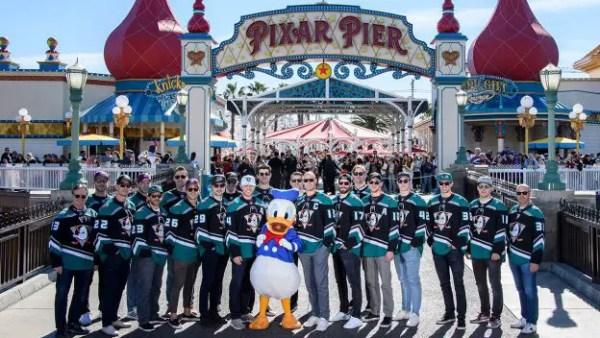 Anaheim ducks day DCA