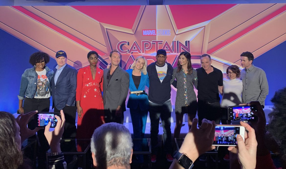 Captain Marvel Global Press Conference