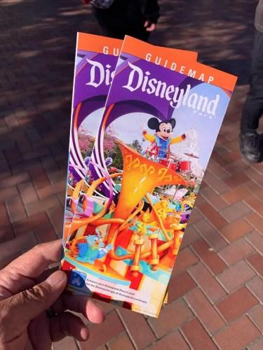 New Celebration Inspired Disneyland Parks Maps Available 1