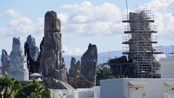 Star Wars: Galaxy's Edge is Really Starting to Take Shape at Disneyland