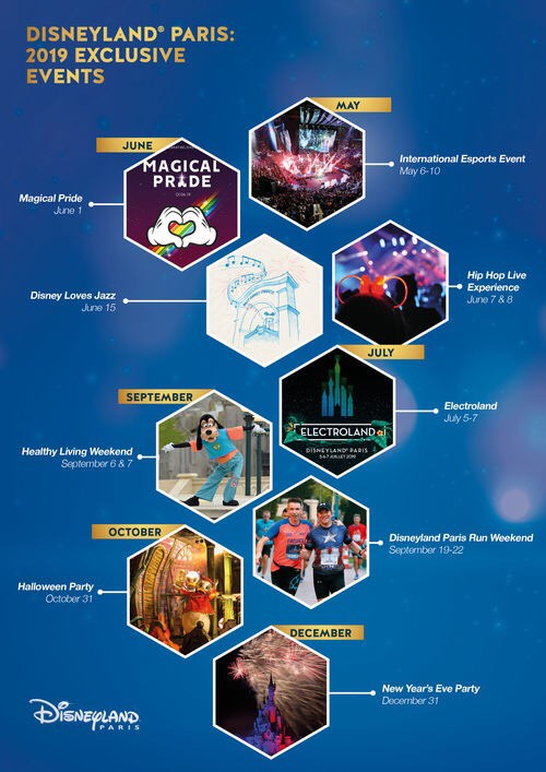 Exclusive Events coming to Disneyland Paris!