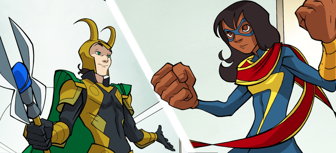 Marvel Rising Ultimate Comics Now Available