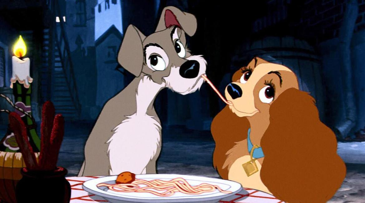 Lady and the Tramp Movie and Inspired Dinner Offered In Time For Valentine's Day