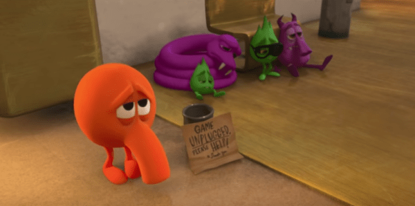 Check Out The Ralph Breaks The Internet Q Bert Deleted Scene