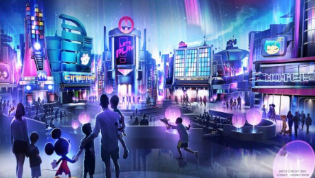 Permits Filed For Entrance Changes to Epcot 2