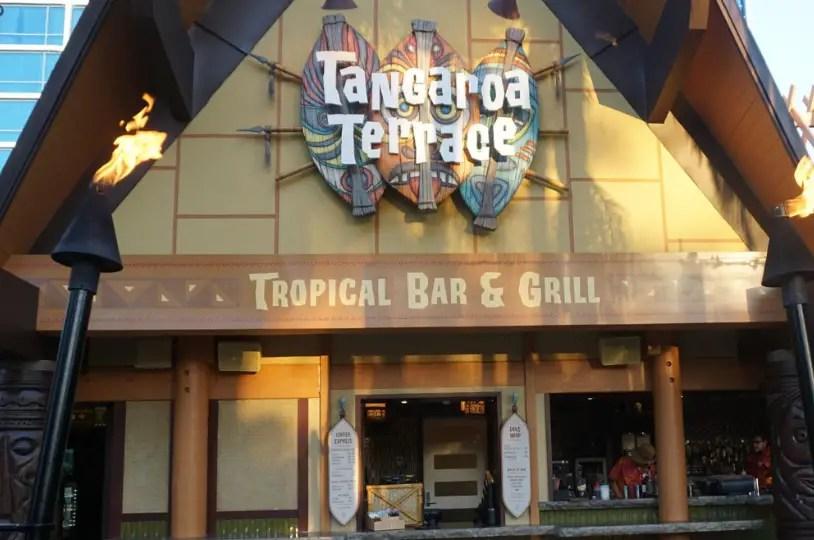 Tangaroa Terrace at the Disneyland Hotel is Open