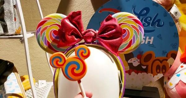 Sweet New Lollipop Minnie Ears Heading To Disney Parks Soon 1