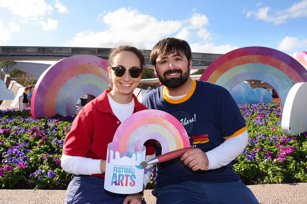 New PhotoPass Options at Epcot's Festival of the Arts! 3