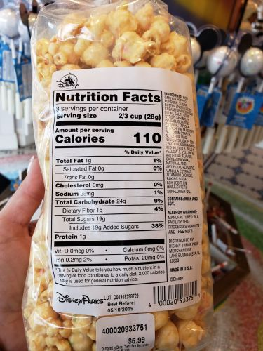 The Crunchy Outer Coating Surrounds Popcorn Packing In A Sweet And Familiar Birthday Cake Flavor Golden Color Is Somewhat Reminiscent Of Caramel