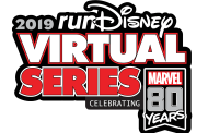 2019 runDisney Virtual Series Themed 80 Years of Marvel