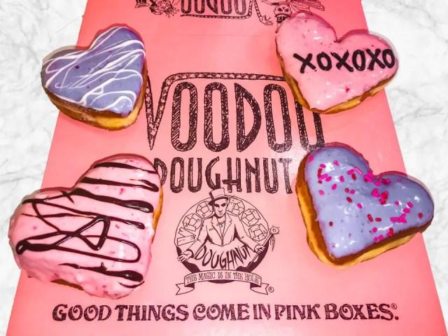 Limited Release Valentine's Day Voodoo Doughnut