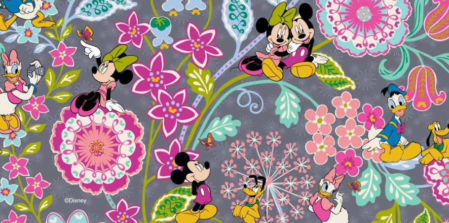 9955ffcfee7e Two Magical New Disney Vera Bradley Prints Are Blooming For Spring