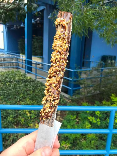 Chocolate Peanut Butter Churro Now at California Adventure Food & Wine Festival 1