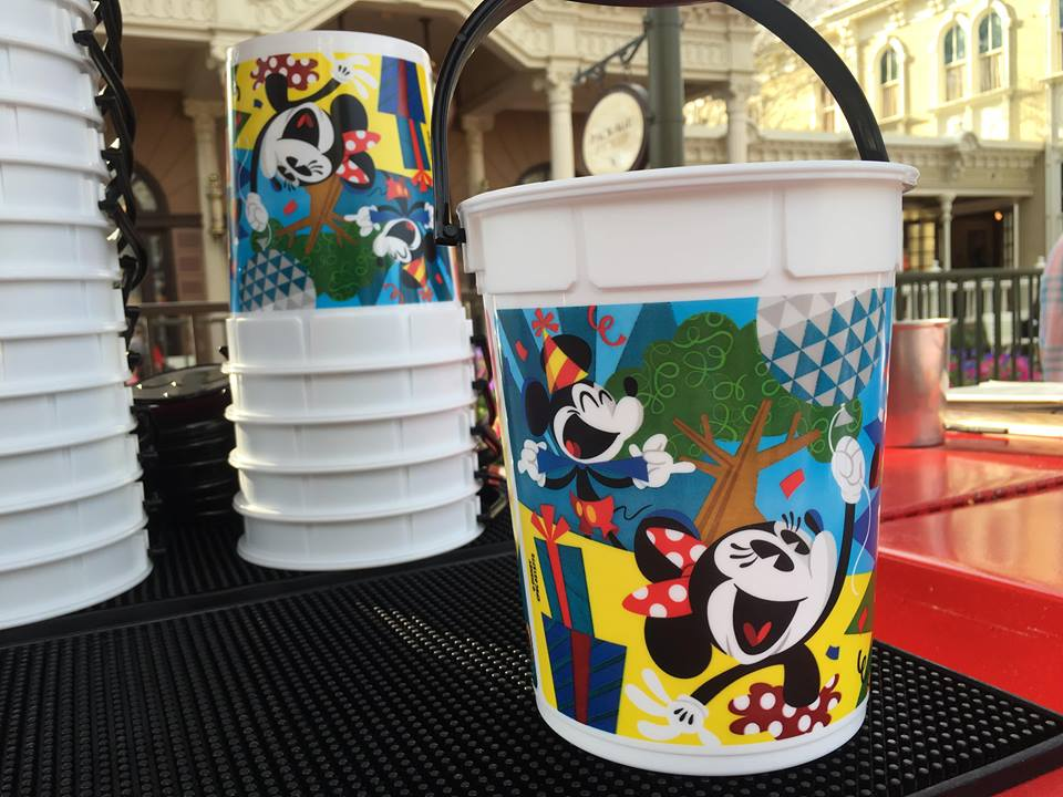 Oh Boy, A New Mickey And Minnie's Surprise Celebration Popcorn Bucket