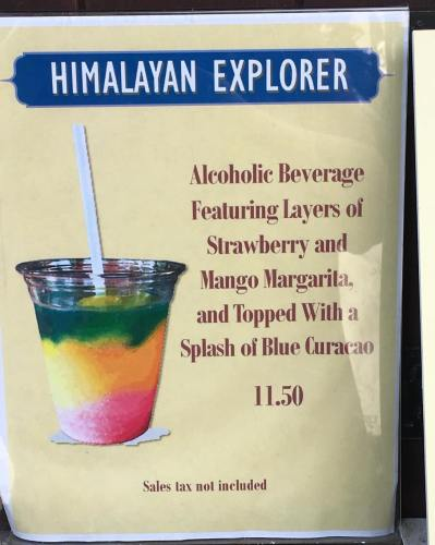 New Himalayan Explorer Cocktail Appears in Animal Kingdom 1