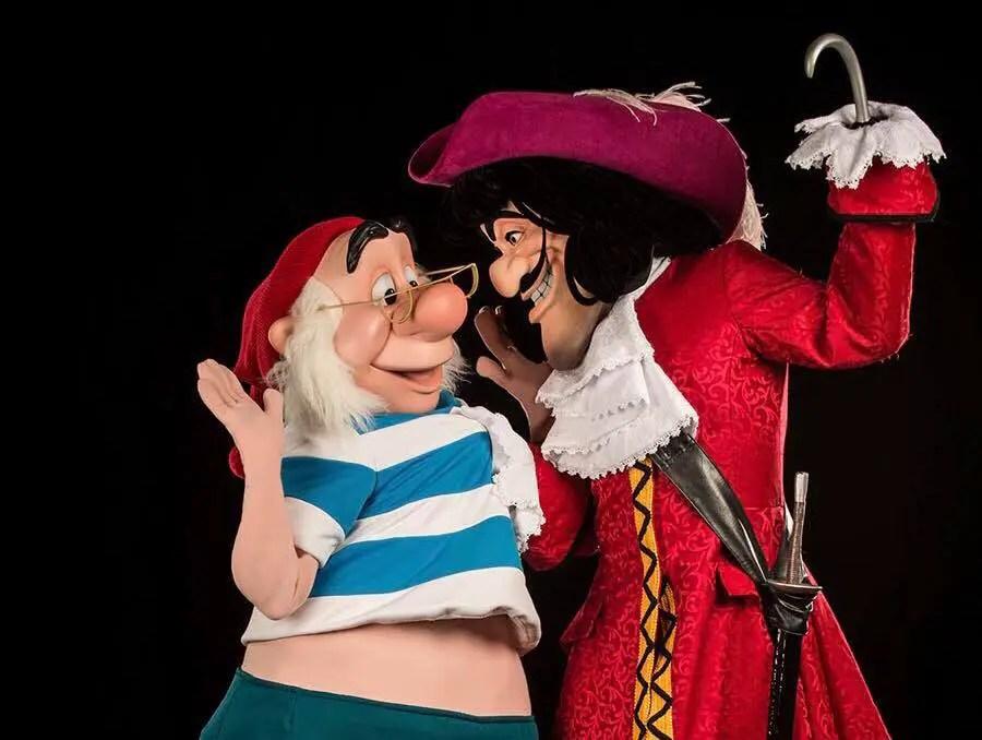 New Captain Hook's Pirate Crew Event at Disney's Beach Club Resort