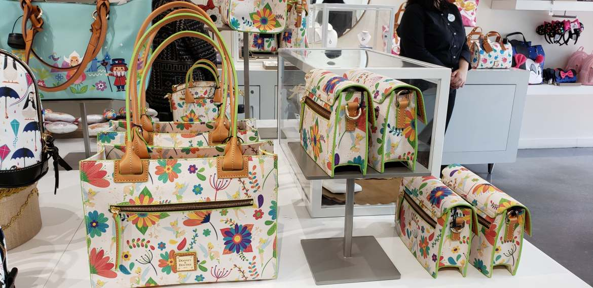 New Tinkerbell Dooney and Bourke Collection at Ever After Jewelry Co