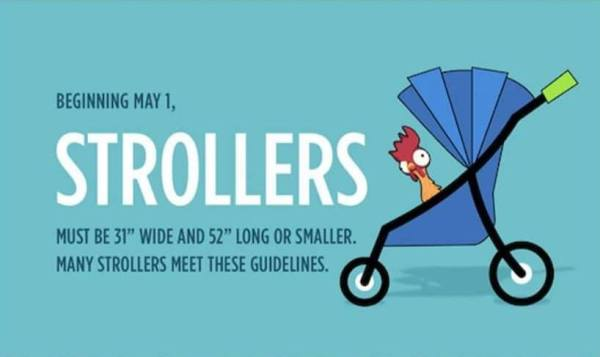 Strollers that are perfect for the Disney Theme Parks 1