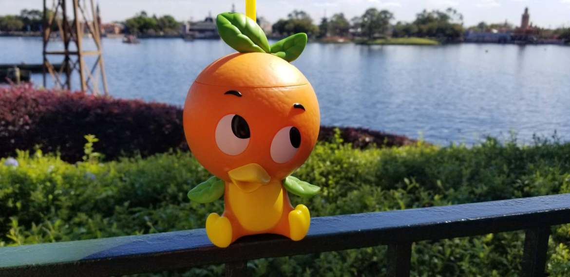 Orange Bird Sipper Cup back in stock at Epcot