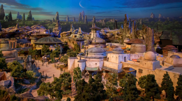 Exclusive Drone Video of Star Wars: Galaxy's Edge
