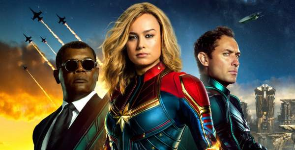 """Captain Marvel"" Becomes 10th Highest Earning Marvel Film"