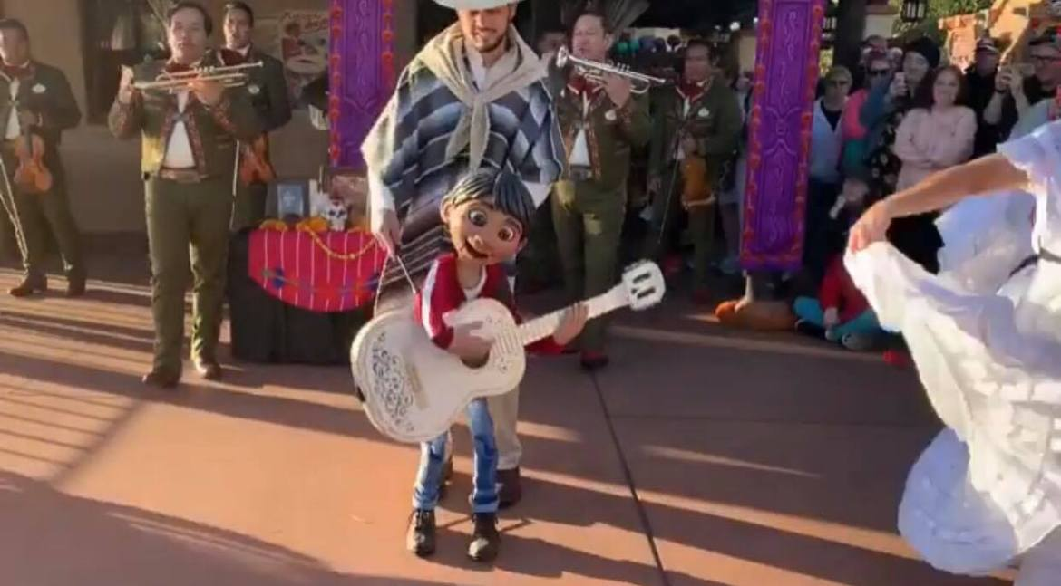 Miguel And The Story Of Coco Now Performing In Mexico At Epcot