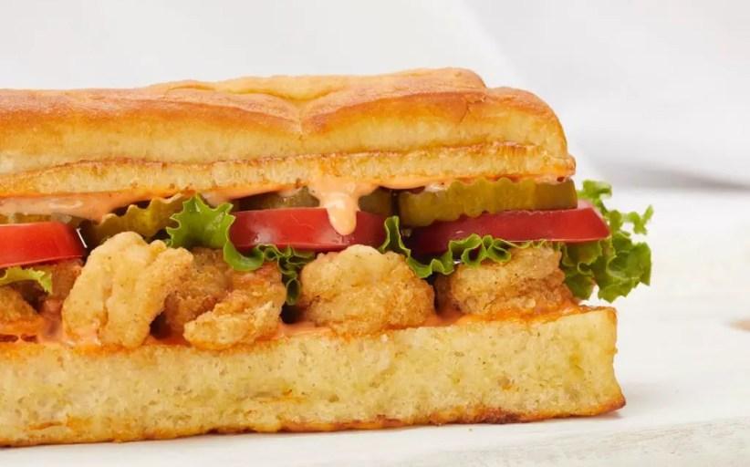 Earl of Sandwich Debuts Shrimp Po Boy