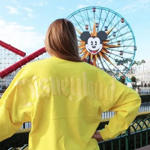 Yellow Disney Spirit Jersey