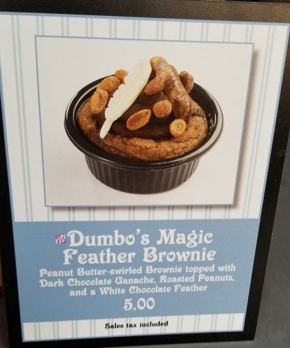 Dumbo's Magic Feather Brownie is Now Available at Storybook Circus 1