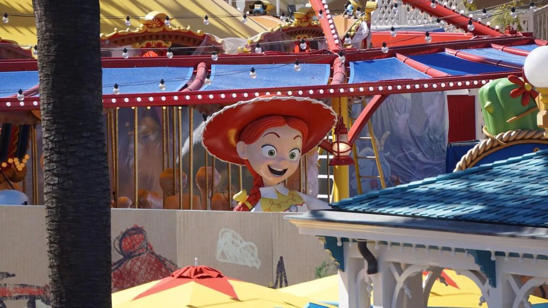 Sneak A Peek At Jessie's Critter Carousel In Disney California Adventure Park