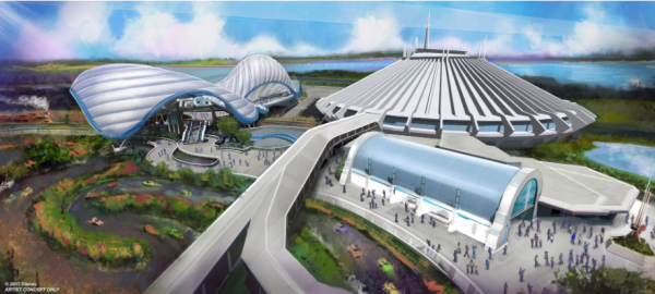 Magic Kingdom Cast Members Invited to be Part of TRON Construction
