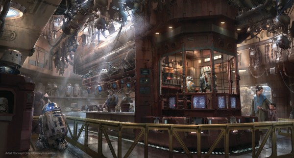 Guide to Droid Building at Star Wars: Galaxy's Edge