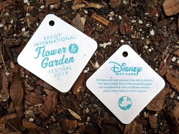 EPCOT International Flower And Garden Festival 2019 Gift Cards 1