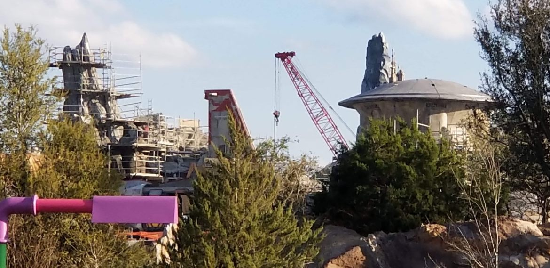 Construction Update: Star Wars: Galaxy's Edge at Disneyland and Walt Disney World