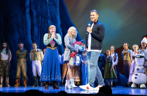 The Bachelor Frozen The Musical